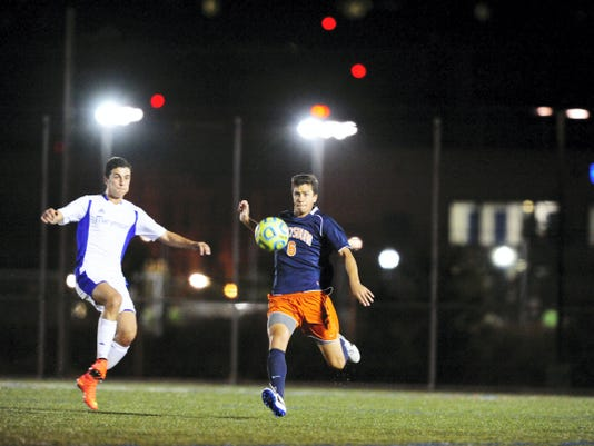 Senior Marc Franco is one of 21 returning letterwinners for Gettysburg's men's soccer team. The Bullets are still a young team as 19 of the 28 players are freshmen or sophomores.
