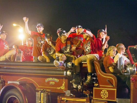 The Red Land team returns home from the Little League World Series in South Williamsport on Sunday.