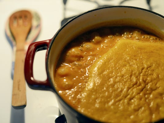 Dinner or dessert? Serve a pumpkin coconut soup for your next autumnal dinner party.