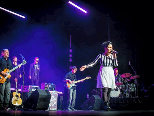 """York County singer DaNica Shirey, who was a finalist on """"The Voice"""" last fall, performed her first full-length concert Feb. 6, 2015 in front of about 600 cheering fans at the Pullo Center."""