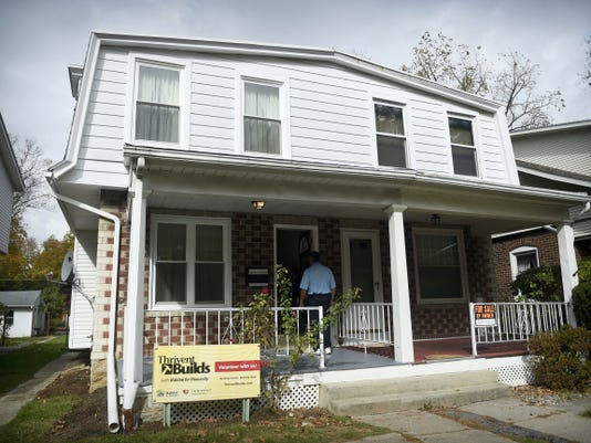 Lebanon Habitat for Humanity's newest renovated home is at 1519 Elm Street. Next year's project will be in the 1000 block of Lehman Street.