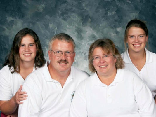 Todd Fisher and his family