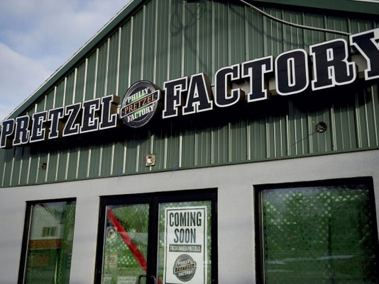 A Philly Pretzel Factory will soon open in North Lebanon Township. The building is pictured here on Thursday, January 15, 2015. Jeremy Long -- Lebanon Daily News