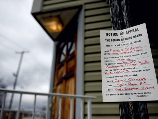 The owner of the former Evergreen Resturant and Lounge , Richard Stutzman,  is hoping to turn the building into a fitness studio and apartments accroding to a zoining hearing board notice on Dec. 17, 2014. Jeremy Long -- Lebanon Daily News