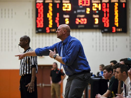 FILE — GAMETIMEPA.COM Ryan Luckman confirmed he is out as girls' soccer coach at York Catholic in addition to boys' basketball coach. He served as the Irish girls' soccer coach for 10 seasons. However, Luckman had just one season as the boys' basketball coach.