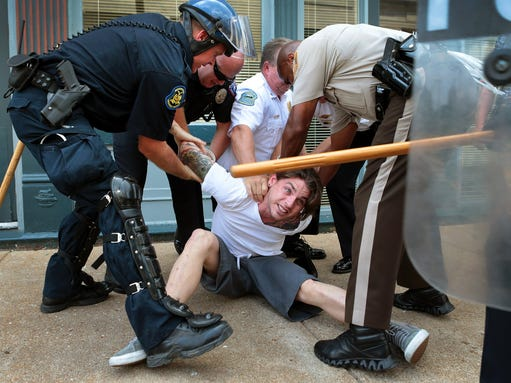 Officers at risk ferguson MO - Google Search