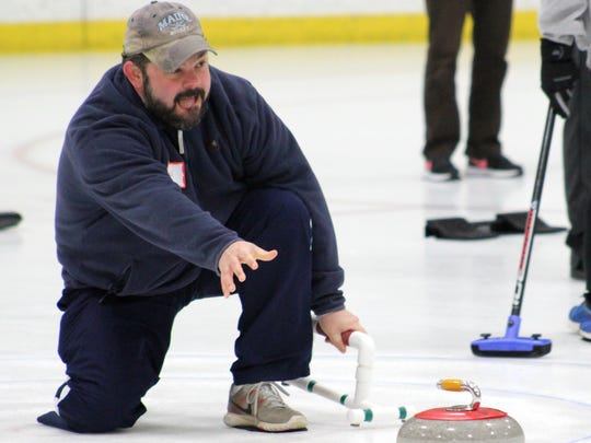 Jason Ouellette fulfills his dream of becoming a curler.