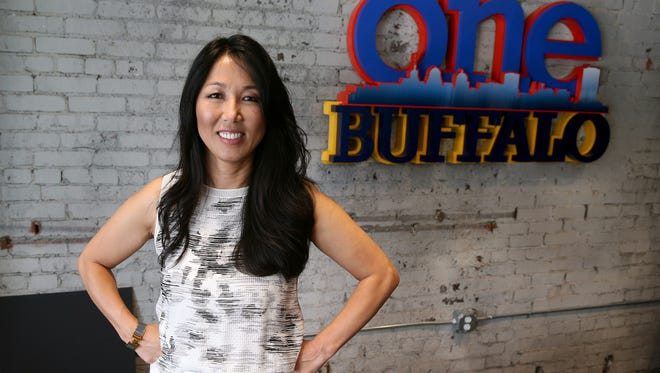 Kim Pegula is President and CEO of Pegula Sports and Entertainment which is a driving force in revitalizing downtown Buffalo.