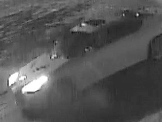 vandalism suspect car