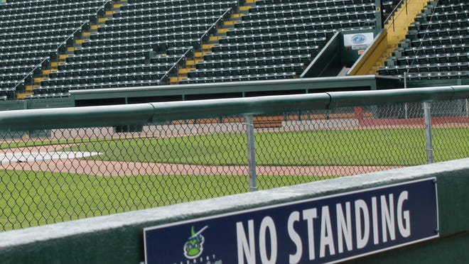 Seats at Centennial Field will soon feature plaques emblazoned with donors' names.