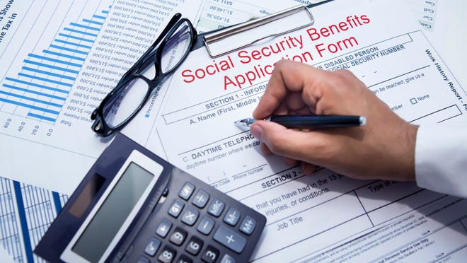 Social Security calculates what's called your average indexed monthly earnings for the 35 years in which you earned the most.