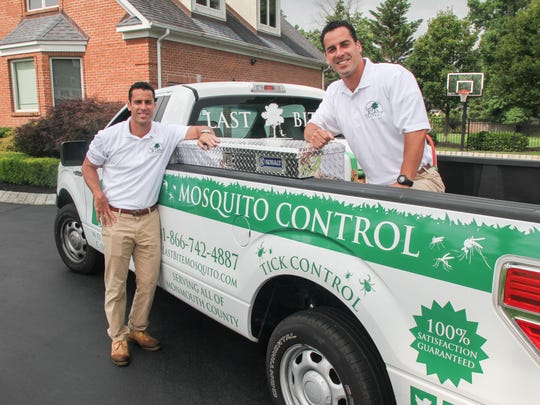 Brothers Jason Julio (left) and Jeremy Julio own Last Bite Mosquito Control along with partner Brandon Sosnoskie (not pictured).