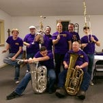 Bad Monkey Brass Band is the featured act at Thursday's Downtown River Jam.