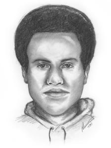 Tennessee Bureau of Investigation composite of Franklin armed robbery suspect.