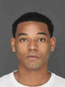 Darique Burke, 20, of Nyack, was arrested on Thursday and charged with felony assault and a misdemeanor weapons charge, Clarkstown police said.