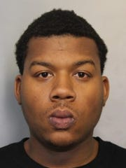 Victor Teasley, 22, was one of four men charged with drug and weapons charges in Dover.