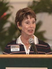 Dace Stubbs, a founding member of Indian River Impact 100 and 10th Year Anniversary sponsor.