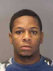 Demond Vaughan, 22, is accused of stealing money from