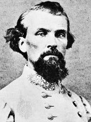 Confederate Gen. Nathan Bedford Forrest