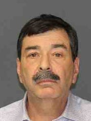Jeffrey Wrightman, a Somers school teacher, was charged with public lewdness in Ossining.