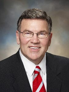 (Downloaded 22 May 2009) Former State Representative Lorence Wenke has filed and formally announced his  intent to run in 2010 for the 20th District state Senate seat - hoping to succeed term limited state Senator Tom George. (Courtesy of Lorence Wenke for State Senate.) Max uncropped width: