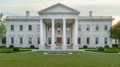 The White House in the Dallas neighborhood of Preston