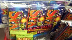The sale of sparklers is now legal in New Jersey.