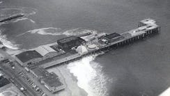 The Long Branch Pier as it looked in 1979.