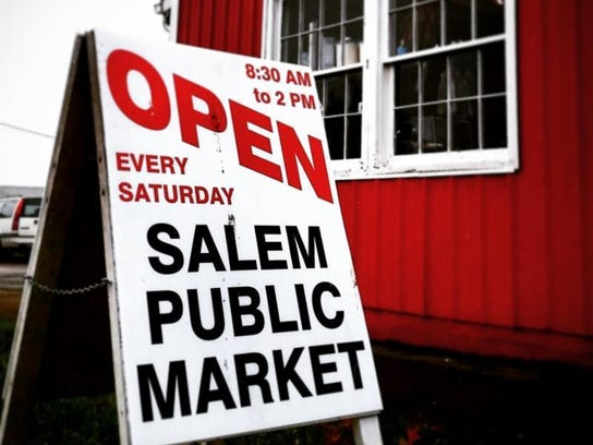 Salem Public Market is open every Saturday from 8:30 a.m. to 2 p.m.