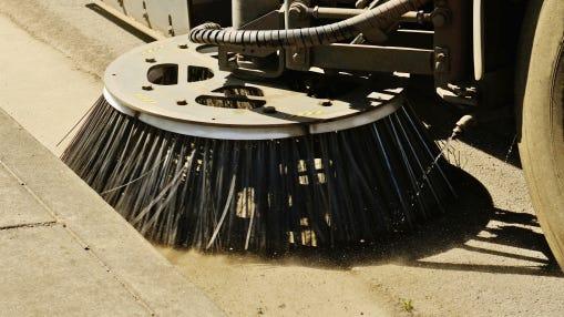Manitowoc's street sweeping parking ban begins April 1.