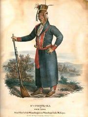 O'Check-Ka, or Four Legs, was a Ho-Chunk head chief