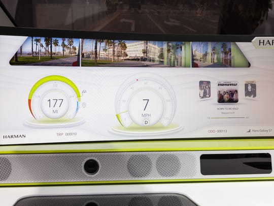 Harman's holographic augmented reality display proof