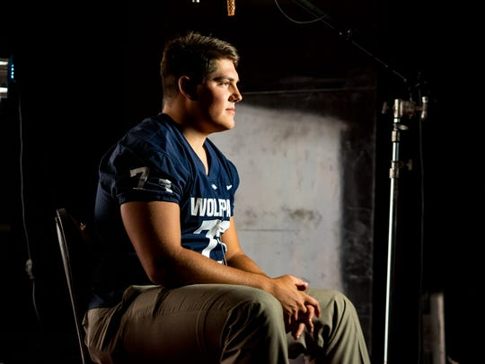 Austin Corbett is the smartest and strongest player on the Wolf Pack.