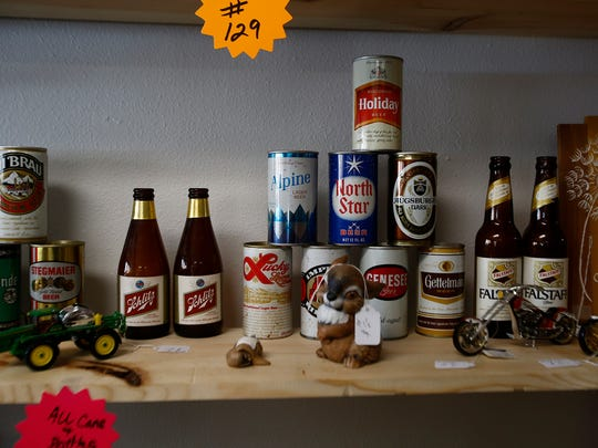 The Fawn and Fox is owned by the father and son team of Mac and Mark McCaughey. The store offers a wide variety of items ranging from collectible beer cans to antique furniture.