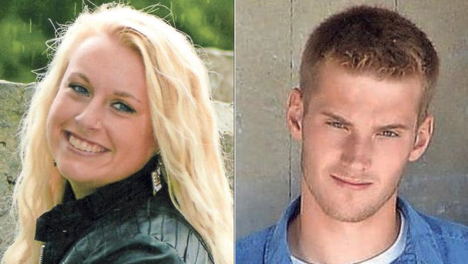 Emma Zahringer and Drake Propson of Hilbert High School are this week's top scholars.