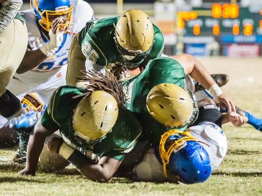 Landry Walker vs Acadiana High                        November 17, 2017