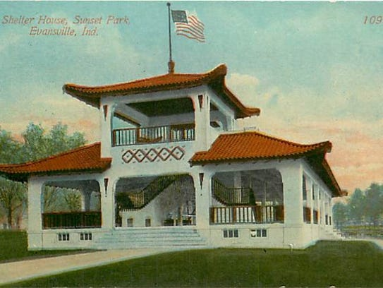 The Pagoda was it is commonly known was built in 1912