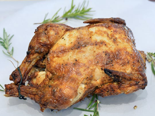 The ubiquitous rotisserie chicken is a fixture on many