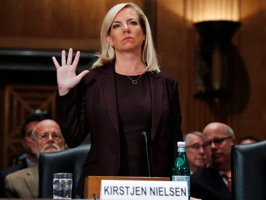 Image result for photos of kirstjen nielsen