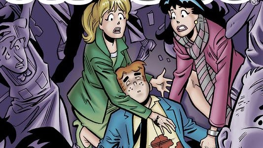 """Archie Andrews dies in a July 2014 issue of """"Life with Archie."""""""