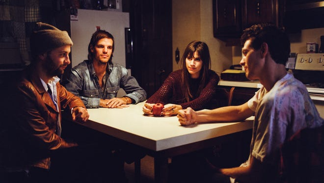 The members of Houndmouth, from left: Shane Cody, Zak Appleby, Katie Toupin and Matt Myers.