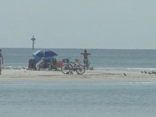 Red tide bloom heading south from hernando for Tides 4 fishing sarasota
