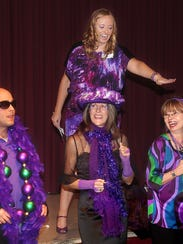 Purple Craze, shown here in 2013, is a fun, over-the-top