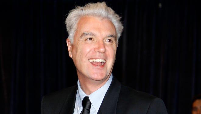 Musician David Byrne