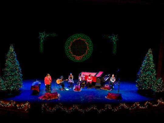 Cherish the Ladies bring A Celtic Christmas to the Tarrytown Music Hall stage in December.