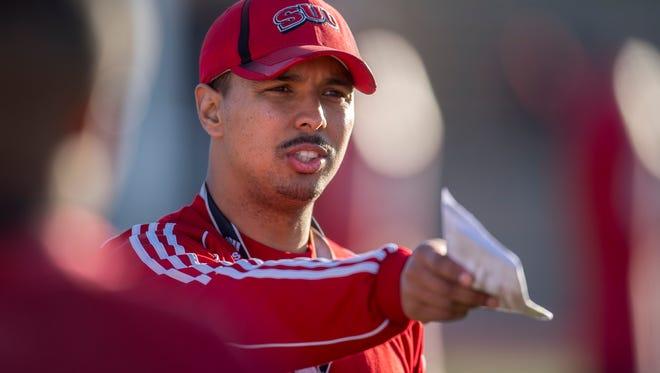 "Southern Utah University head football coach Demario Warren made ESPN's list of ""40 coaches under 40"" on Aug. 9, 2018."