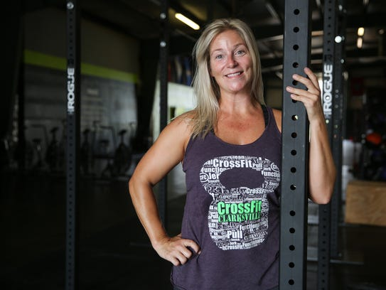 CrossFit Clarksville Co-Owner Regean Prather.