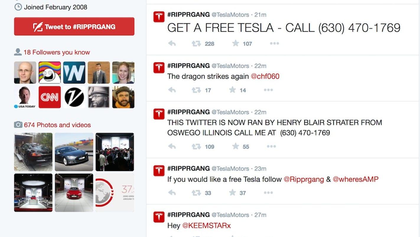 Tesla Twitter: Tesla's Twitter Back After Hackers Hijack Feed