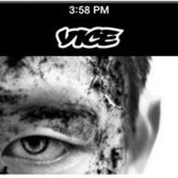 A Vice Media screen shot from their App.