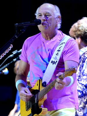 """Jimmy Buffett and the Coral Reefer Band will return to the Wharf Amphitheater in Orange Beach, Alabama, on Tuesday, but if he wants a """"Cheeseburger in Paradise"""" like the one he describes in his song, he'd better bring along a few ingredients."""